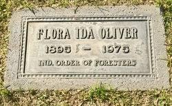 Flora Ida Oliver (1895-1975) - Find A Grave Memorial