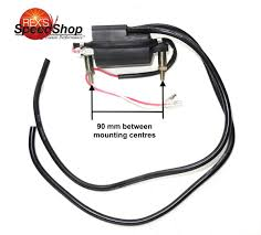 6 volt points ignition dual lead ht coil rex's speed shop 6v Coil Motorcycle Wiring Diagram 6 volt points ignition dual lead ht coil Ignition Coil Wiring Diagram