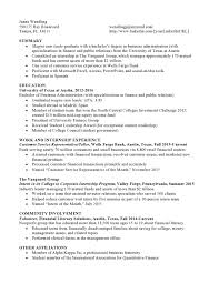 Mutual Funds Entry Level Resume Samples Vault Com