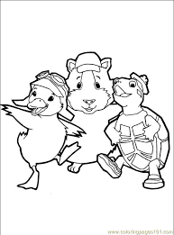 Small Picture Wonder Pets 34 Coloring Page Free The Wonder Pets Coloring Pages