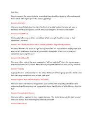 ethics exam 1