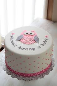 Owl Baby Shower Cake For Both Girl And Boy  Party XYZOwl Baby Shower Cakes For A Girl