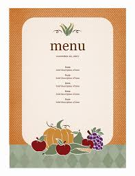 Free Catering Menu Templates For Microsoft Word 21 Free Free Restaurant Menu Templates Word Excel Formats