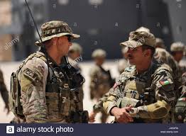 AMMAN Jordan May 7 2017 An Air Force Special Tactics ficer