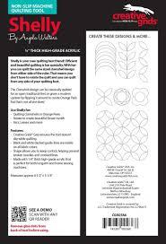 Creative Machine Designs Inc Angela Walters Machine Quilting Tool Shelly Cgrta8