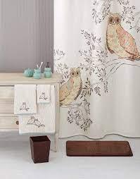 bathroom decor owls