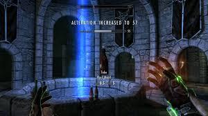 Skyrim Se Alteration 15 To 100 Quick Glitch Ps4 Youtube