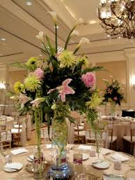 Flower Arrangements For Wedding Receptions