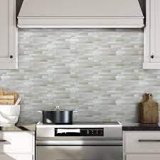 Stick on tiles, Kitchen decor tiles ...