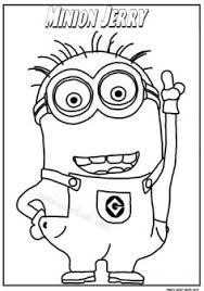 Small Picture Pin by Magic Color Book on Minions Coloring pages free Pinterest