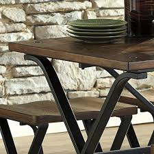 Industrial Dining Table  Freedom ToIndustrial Look Dining Table