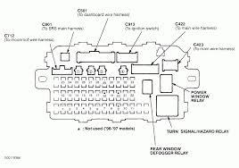 1998 honda civic fuse box diagram discernir net 2000 honda civic under dash fuse diagram at 1998 Civic Fuse Box Diagram