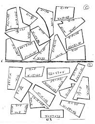 algebra 1 2 step equations worksheets solving one worksheet puzzle the best image collection and