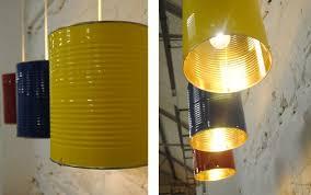 pendant lamp shade tin can lights