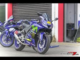 modifikasi yamaha all new r15 movistar motogp