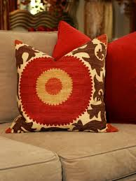 photos hgtv red orange sunshine throw pillow pinterest home decor home office decorating ideas burnt red home office