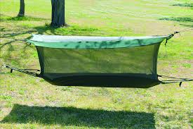 Amazon.com: Texsport Wilderness Hammock with Mosquito Netting: Sports &  Outdoors