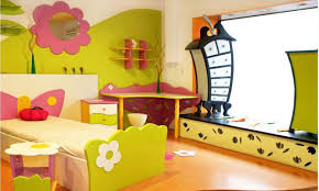 Appealing Interior Design Used In Kids Room Decorating Ideas : Beautiful  Decoration Using Butterfly Shape Wood