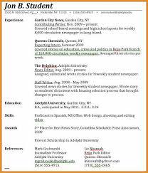 Expected Graduation Date Resume   Resume Badak