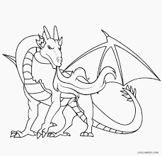Realistic Dragon Coloring Pages Colouring For Good Printable