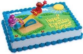 Amazoncom Bakery Crafts Sesame Street Elmo And Abby Playground