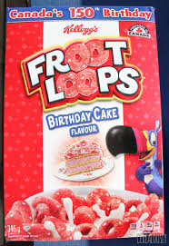 review canadian birthday cake froot loops
