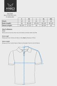 Mens Polo T Shirts Size Chart Ficts