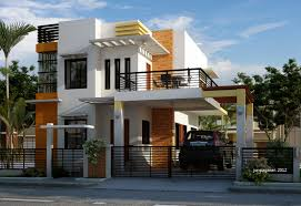 rumah minimalis modern 2 lantai di lahan sempit kumpulan model