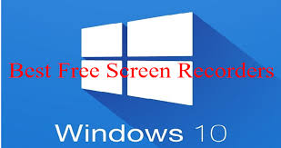 How To Record Computer Screen Windows 10 Best Free Screen Recorders For Windows 10 Jackys Deals