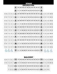 Thorough Ormond Beach Performing Arts Center Seating Chart