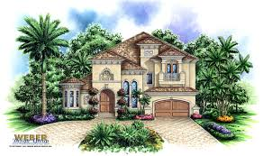 Tuscan Style House Plans  Floor Plans  Home Plans Plan   Weber    Tuscan Floor Plan   Aurora House Plan
