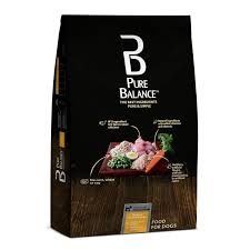 pure balance en brown rice recipe dry dog food 30 lb walmart