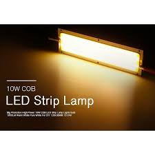 Home & Garden 1000LM <b>10W</b> COB LED Strip Light <b>High Power</b> ...