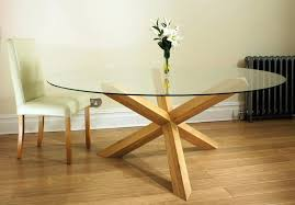 oak and glass dining table new court solid oak glass round dining table pedestal oak furniture
