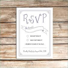 Free Rsvp Template Awesome Postcard Wedding Realistic