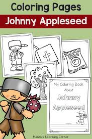 Small Picture Johnny Appleseed Coloring Pages Mamas Learning Corner