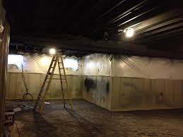 Black Ceilings lovely design painting basement ceiling black awesome painted 1862 by xevi.us