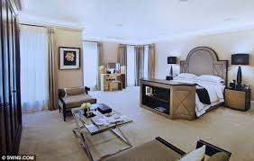 Elegant Large Double Bedroom: Additional Facilities At The House Include: A Cinema,  Games Room