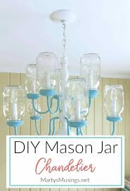mason jar chandelier have some extra mason jars and an outdated chandelier turn them into a