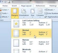 How To Set Up 1 Inch Margins In Word 2010 Solve Your Tech