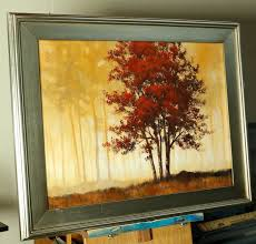 golden forest 18 x 24 i ll be teaching how to do this painting