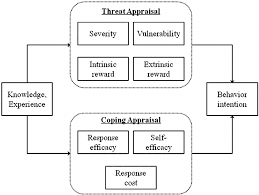 Pmt Chart Schematic Presentation Of The Protection Motivation Theory
