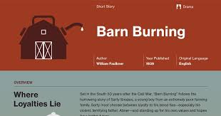 barn burning documents course hero