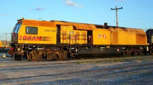 Railpictures.ca - Paul Santos Photo: Loram rail grinding train ...