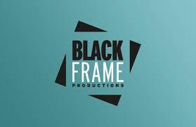 black frame ions logo design green version