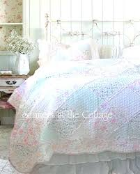 country quilted bedding pastel pink roses ruffles patchwork quilt set country quilts king cabin quilt king size nature country bedding