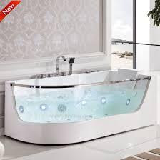 portable single acrylic solid surface massage bathtub spa sf5b006