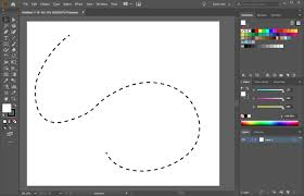 Illustrator vectorizes the line after it's drawn. How To Make A Dotted Line In Illustrator Howchoo