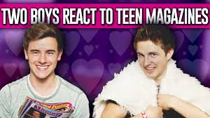 Teen boys magazine videos