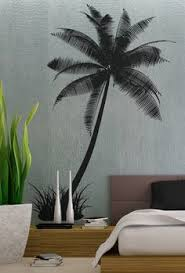 palm tree wall art sticker